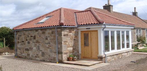 Graham and Lee Example Projects - House Extension in Anstruther